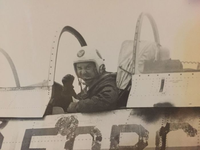Real People Two People Low Angle View Men Air Vehicle Military Lifestyles Indoors  Airplane Pilot Nautical Vessel Air Force Day Sky People My Grandfather