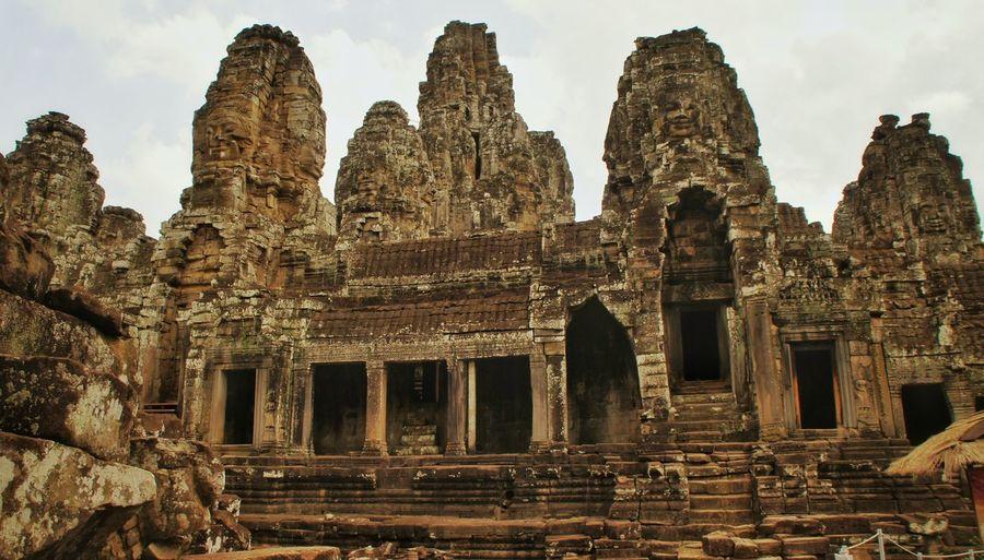 Bayon temple against sky