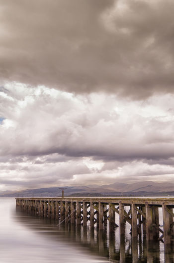 Lamont's Pier Atmospheric Mood Clouds And Sky Clyde Dramatic Sky Lamont Leading Moody Sky Outdoors Pier Port Glasgow Storm Cloud The Way Forward