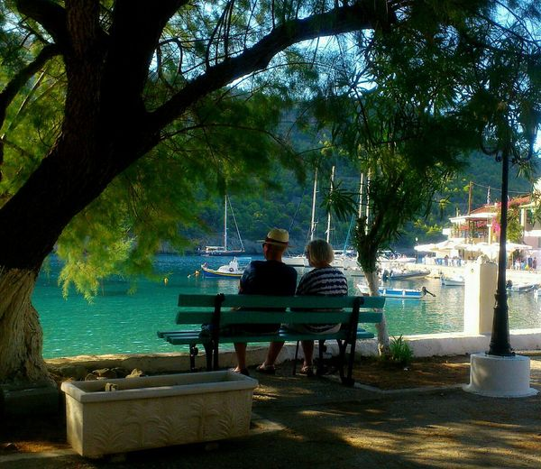 People Of The Oceans Retirement Beautiful Life Marriage  Together Forever Hands In Hands Until The End  Summer Endless Love Beautiful View Kefalonia