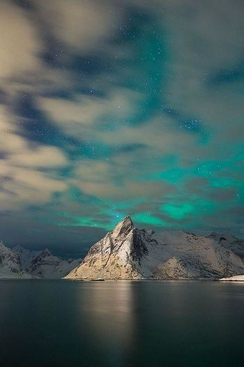 Noruega Mountains Nature Sky