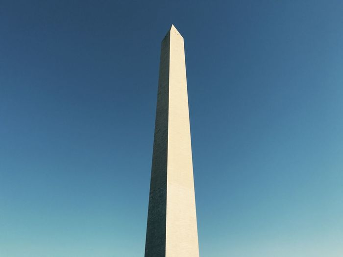 Low angle view of obelisk