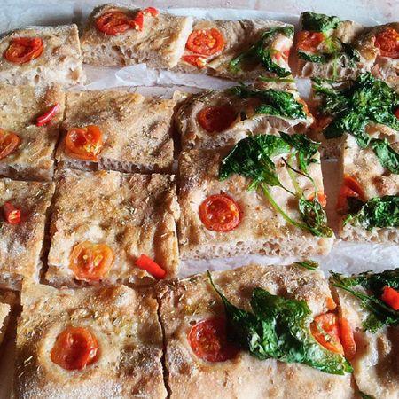 Teglia Pizza Poolish