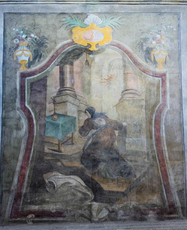 Church Pain Ukraine Baroque Carmelitas Carmelite Fresco Lviv Pedretti Religion Saint John Of The Cross Saint Michael Church Saint Teresa Of Jesus San Juan De La Cruz Santa Teresa