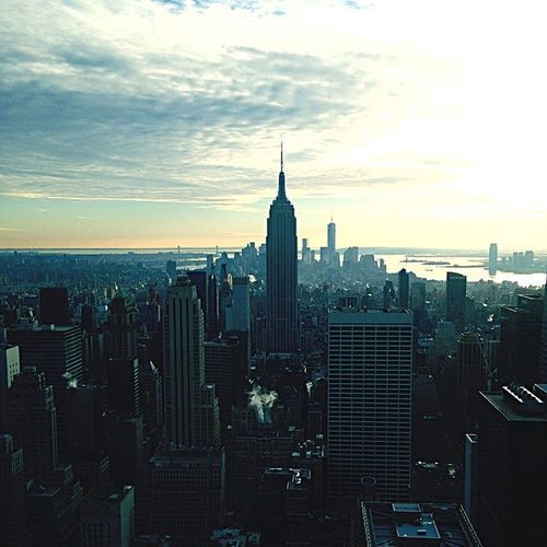 On Top Of The World New York Manhattan Top Of The Rock NYC NYC Photography Streetphotography Rofftop Cityscapes