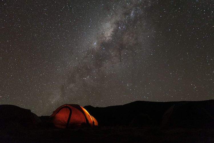Nighttime on Mount Kilimanjaro Arusha Beauty In Nature Camping Idyllic Kilimanjaro Landscape Milkyway Mountain Mountain View Mountains Mountains And Sky Nature Night Outdoors Remote Scenics Sky Tanzania Tent Tranquil Scene Tranquility Usangi