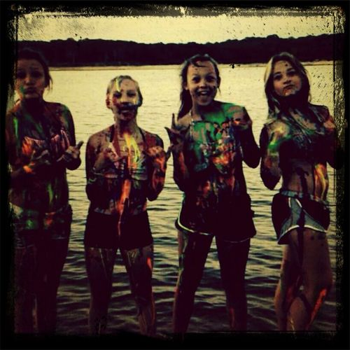 The lake ? Friends♡♡