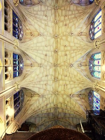 Straw Hat and The Ceiling  - St. patrick's cathedral NY