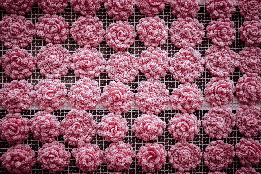 WOOL POWER Threeweeksgalicia Architecture No People Pink Color Wool Wool Balls Wooly Food Full Frame Food And Drink Red Abundance Large Group Of Objects Backgrounds Arrangement Order Meat Repetition Freshness Retail  Pattern Grid For Sale Fruit