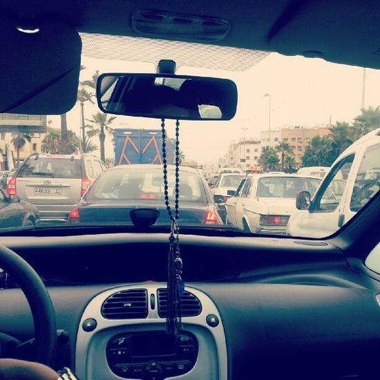 Vive les bouchons! :s Car Drive Bouchons Voiture casablanca maroc