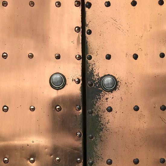 Full frame shot of door
