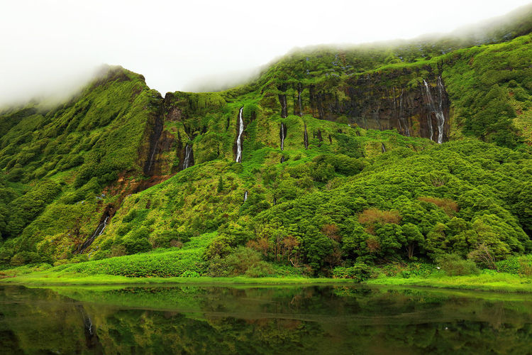 Atlantic Azores Flores Island Green Landscape_Collection Portugal Pozo Ribeira Travel Travel Photography Traveling Alagoinha Flores Azores Flores Day Europe Island Lake Lake View Landscape Landscape_photography Nature Outdoors Portugal_lovers Summer Travel Destinations Travelphotography