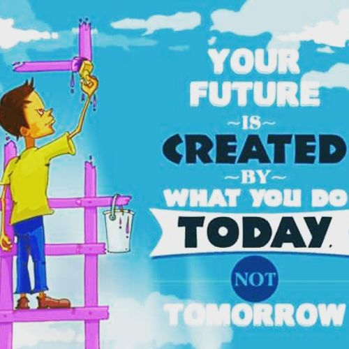 Your future is created by what you do today not tomorrow Quotes GoodTimes Good Goodquotes IslamicQuotes Thedailyreminder Bestquotes Peaceofheart Future Created Worries  Love Care Muslims Proud Pride Prestige