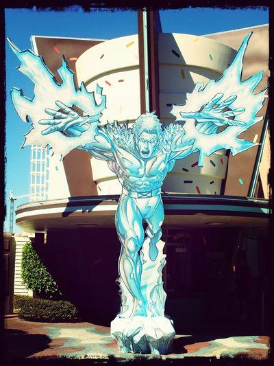 Marvel Island Of Adventure Universal Studios Orlando ICEMAN