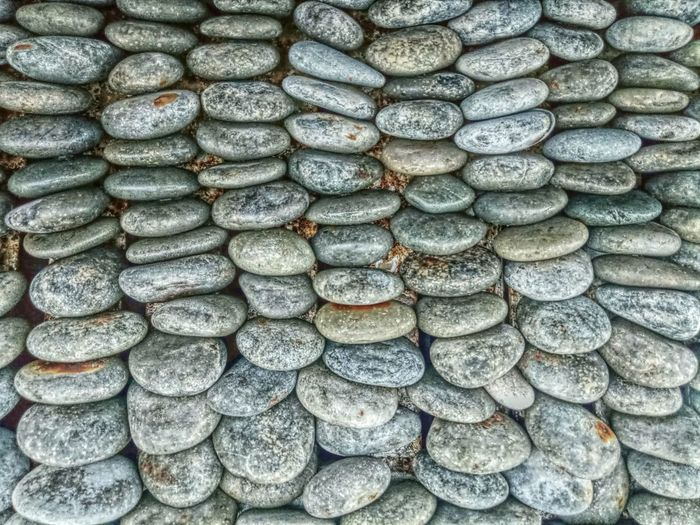 Stones Rocks Organized Full Frame Backgrounds Pattern Day Repetition No People Shape Large Group Of Objects Outdoors Animal Themes Nature