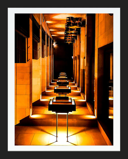 Yen Art Yen Restaurant Residential Building Restaurant Decor Restaurant Interior Design Interior Design Interior Views Intersting Creative ArtWork Photography Shadow Auto Post Production Filter Transfer Print Long Shadow - Shadow Exterior Boxer Montage Collage Vignette Frame Colonnade Passage Pixelated Symmetry Outdoor Cafe Chair Focus On Shadow Absence Theater Paved