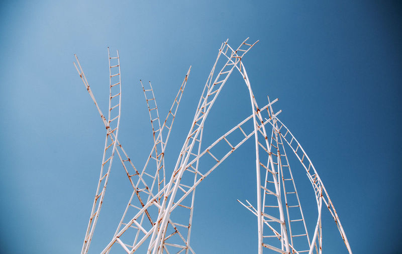 Stairway to heaven.  abstract installation