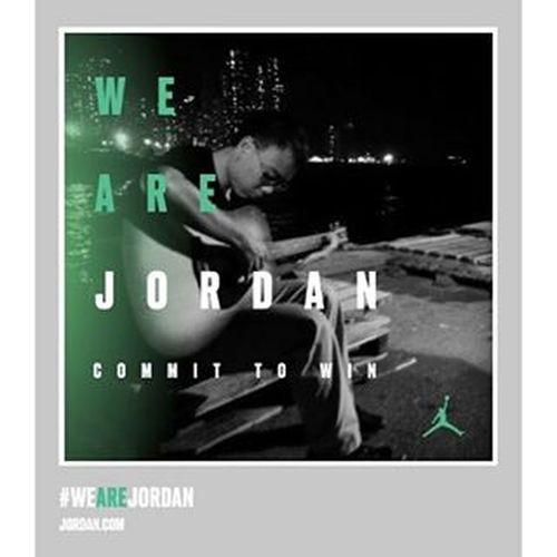 人生就是不停的戰鬥,有些路途就算只剩自己一人也得走下去 jordan30th.nike.com.hk/commit.php Hkig 2015  Wearejordan Committowin
