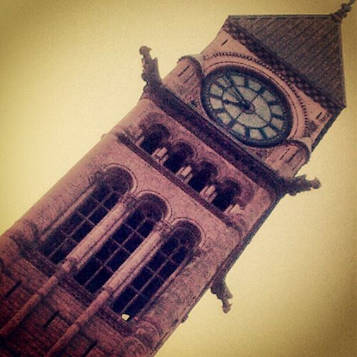 Old City Hall Toronto Clocktowers