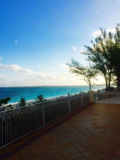 Bahamas Sea Horizon Over Water Beach Sky Water No People Outdoors Cloud - Sky Beauty In Nature