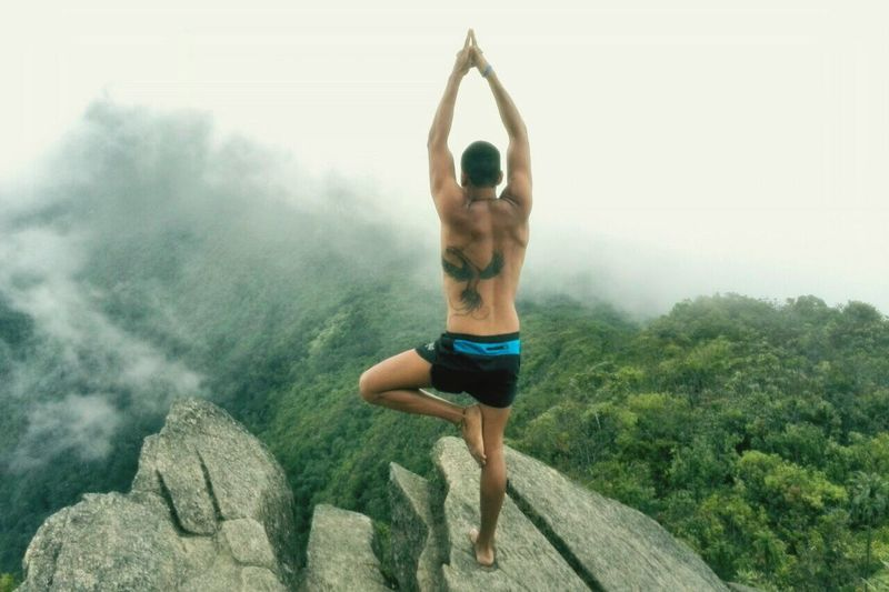 Peace.- Yoga Yogui Mountain Conected With Nature Conection Tattoo Ink Venezuela