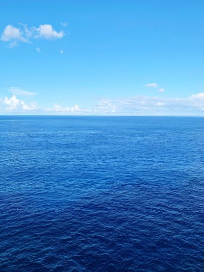 Ocean View Water Sea Scenics - Nature Blue Sky Beauty In Nature The Great Outdoors - 2019 EyeEm Awards