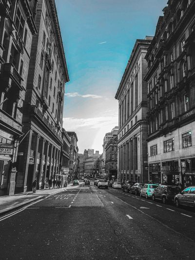 Citycenter Glasgow  MyPhotography Myphoto Architecture Built Structure Building Exterior Sky City Nature No People Low Angle View Day Transportation Building Tree Car Motor Vehicle Street Outdoors Mode Of Transportation Land Vehicle Road Cloud - Sky