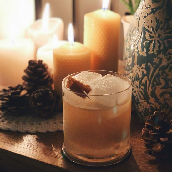 finally uploading my cocktail photos here - if you want a recipe, let me know in the comments or check out my Instagram 🥃 Candles Christmas Cocktail Food And Drink Glasses Going Out Ice Cube Penicillin Spirit Alcoholic Drink Alkohol Bartender Bartending Close-up Cocktails Cozy Delicious Food And Drink Foodphotography Freshness Ginger Mixology Recipe Warm Light