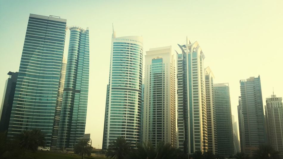 Tonight we are on a hunt for an apartment.. JLT Marina Dubai