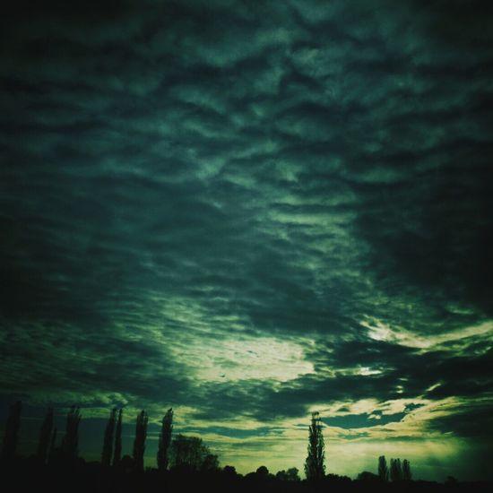 Clouds Cloudscape Sky Sunset