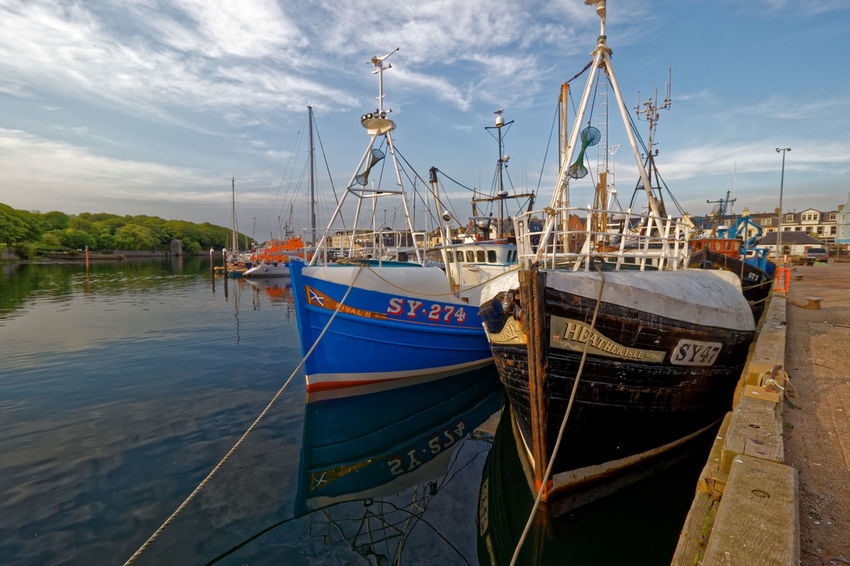 Stornoway Harbour, Isle of Lewis, Outer Hebrides,Scotland. Church Cruise Ship Harbour Statue Arts Culture And Entertainment Carving Church Architecture Fishing Fishing Industry Haddock Harris Tweed Kippers Tourism Town Hall Travel Destinations Trawler Ww1 Memorial