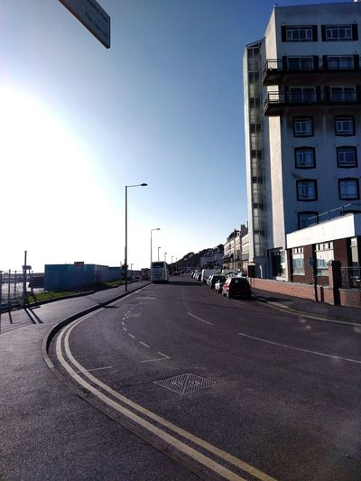 Marvelous Margate. England 🌹 Blue Clouds Outdoors Coastal Homes By The Sea Sealife Margate, Kent, U.K. People City Road Road Sign Street City Street Sky Architecture Building Exterior Built Structure