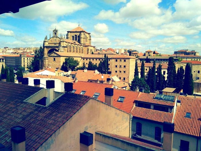 Salamanca Architecture Cloud - Sky Sky Building Exterior History Built Structure Outdoors Travel Destinations No People Day City Cityscape Politics And Government