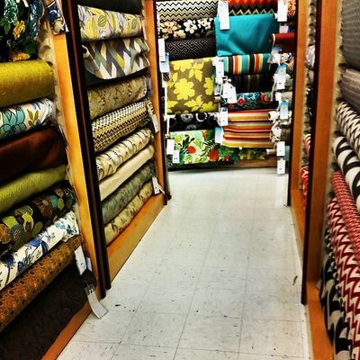 Ah the happiness I find being surrounded by fabrics! Of course Hinge does upholstery work. Hingestore Homedecor Upholstery Fabric customwork