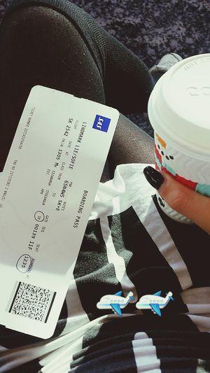 Bye Edinburgh! :) Flying Boarding Plane Catching A Flight