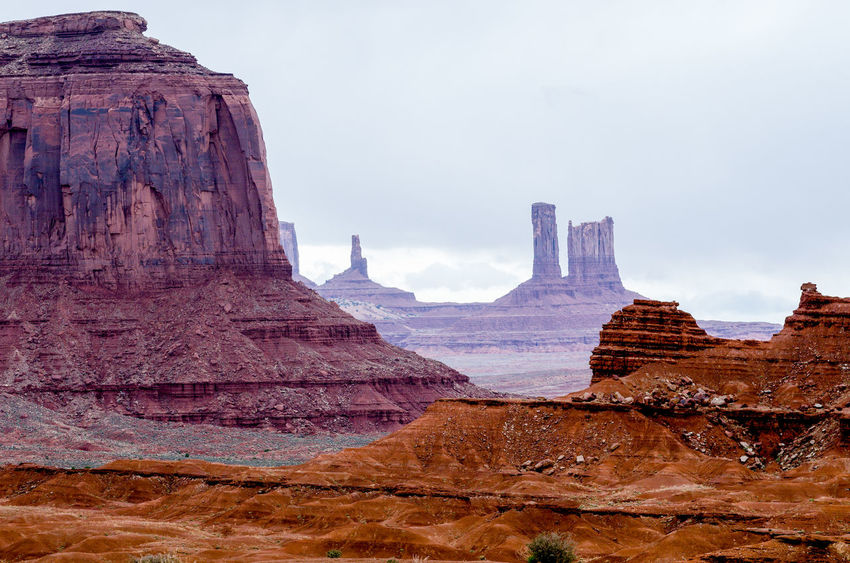 Beauty In Nature Day Landscape Monument Valley Tribal Park Nature No People Outdoors Rock - Object Scenics