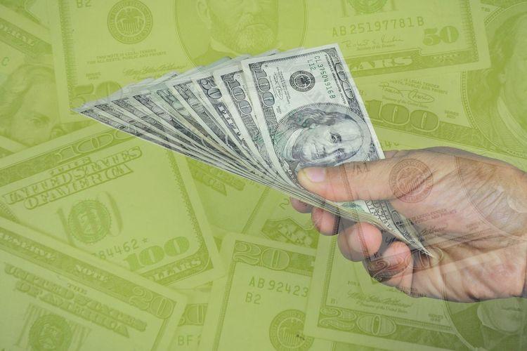 Cash. US dollar