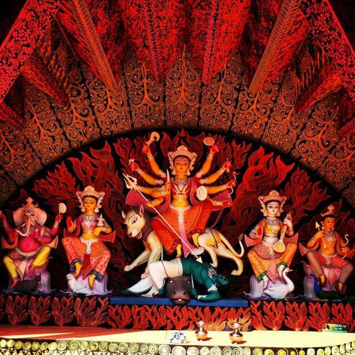 Chaltabagan Durga Puja Calcutta calphototours ride2breathe cycle4india cycling