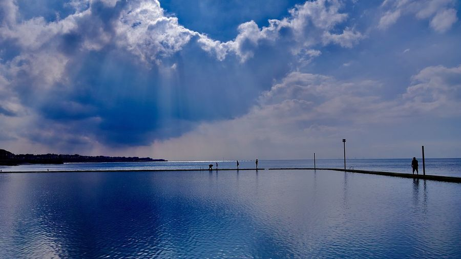 英吉利海峡(The English Channel) Sky Water Cloud - Sky Sea Scenics - Nature Beauty In Nature Nature