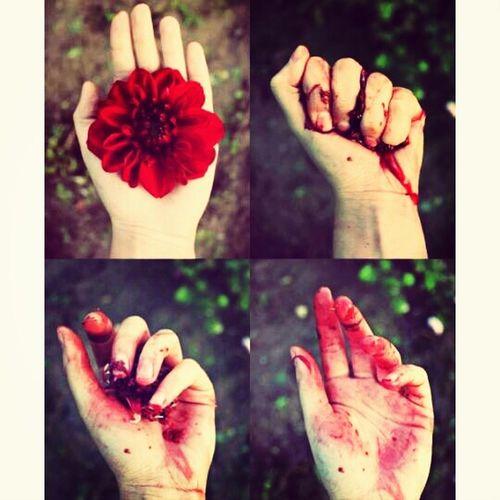 Hayat bazen çok kırmızı. Flowers Bavlikizi Woman Red