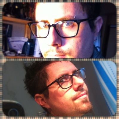 Me with my Jimmyfairly glasses ! Picframe