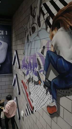 Sports Shop Wall Art Hongdae Seoul South Korea Seoulspring2017