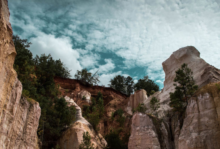 Beauty In Nature Canyon Canyons Cloud - Sky Day Landscape Little Grand Canyon Mountain Nature No People Outdoors Rock - Object Scenics Sky Travel Destinations Tree