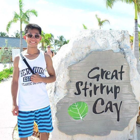 The Great Stirrup Cay. Norwegian Cruise Line's private island in The Bahamas.🏊🏄🚢 Sunhater Ncl NorwegianBreakaway Norwegiancruiseline