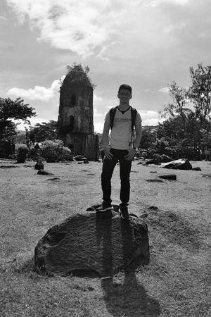 Cagsawa Ruins Blackandwhite Photography Bicolandia Uragon Eyeem Philippines Legazpi City