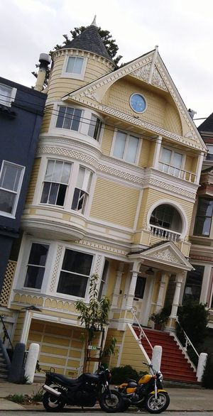 Painted Lady Painted Ladies Not Your Hood Architecture Building Exterior Built Structure Façade History Day Outdoors