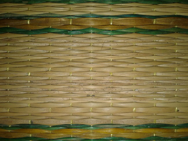 Natural mats, thai people, background Textured  Backgrounds Pattern No People Full Frame Wood Grain Indoors