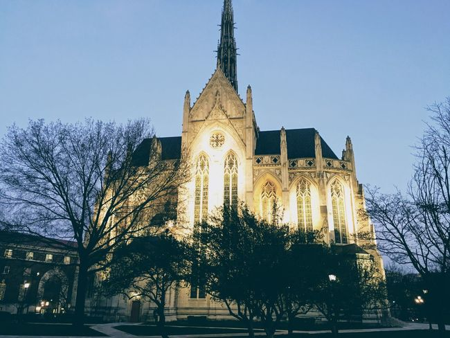 Cathedral Pennsylvania Pittsburgh United States Of America History