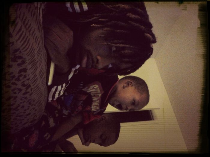 - Boolin' Wit My LiL Ones Baby G And Moni' ....