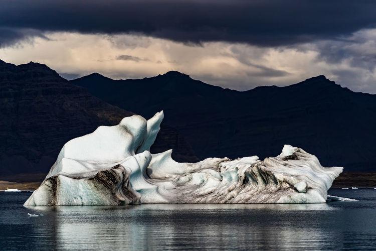 Icebergs in